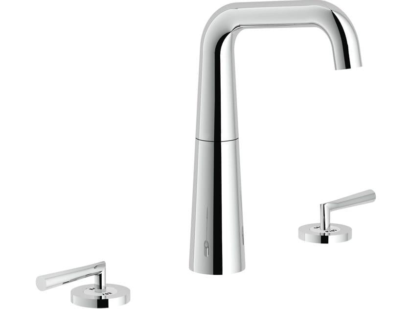 3 hole washbasin tap LIKID   3 hole washbasin tap by Nobili Rubinetterie