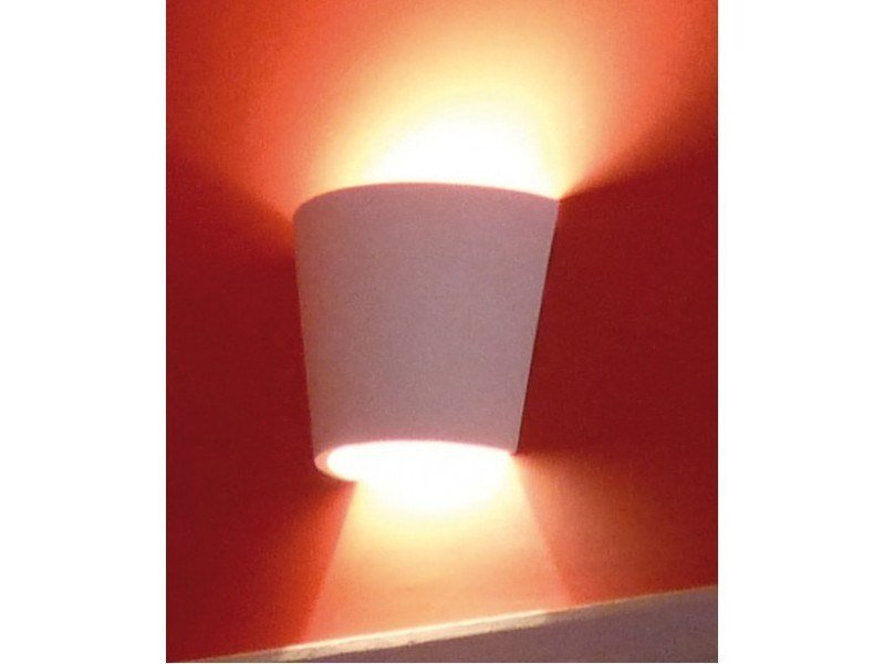 Plaster wall light LILA by GESSO