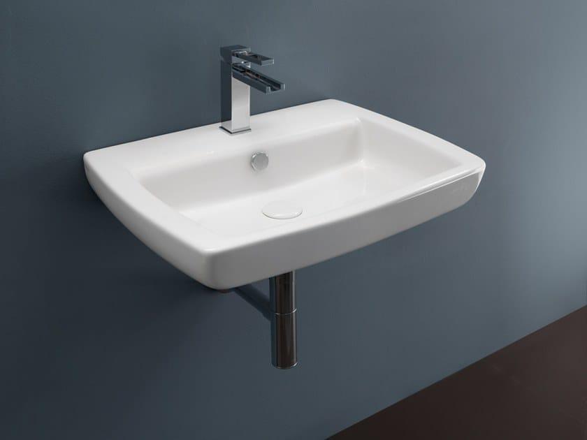 Wall-mounted ceramic washbasin LILAC | Wall-mounted washbasin by GSG Ceramic Design