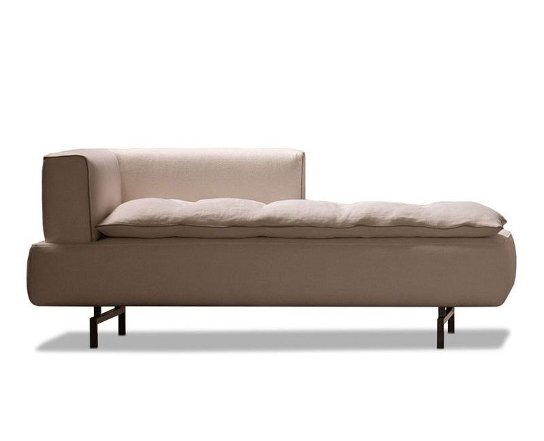 Upholstered fabric day bed LILLE | Day bed by ESTEL GROUP