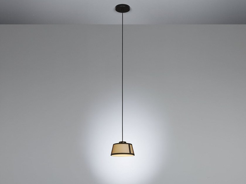Halogen fabric pendant lamp LILLY | Pendant lamp by Tooy
