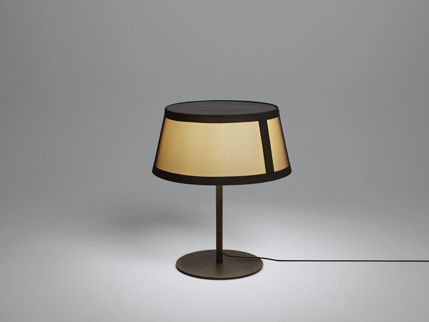 Halogen fabric table lamp LILLY | Table lamp by Tooy