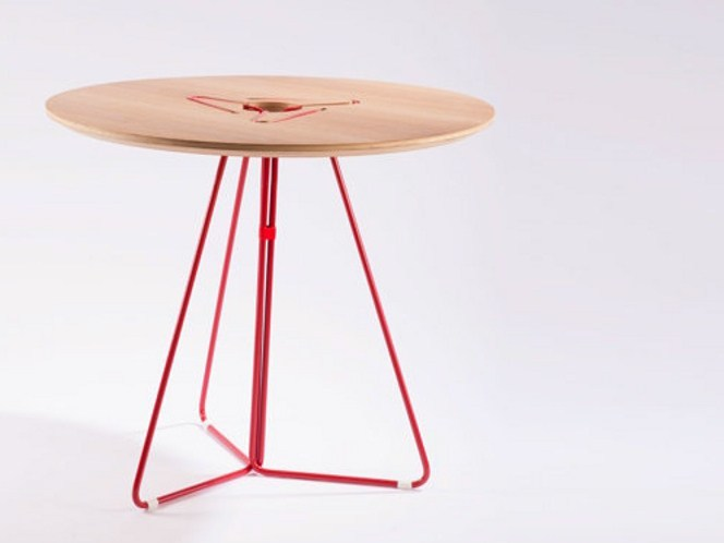 Round contract table LILU | Contemporary style table by Two Six