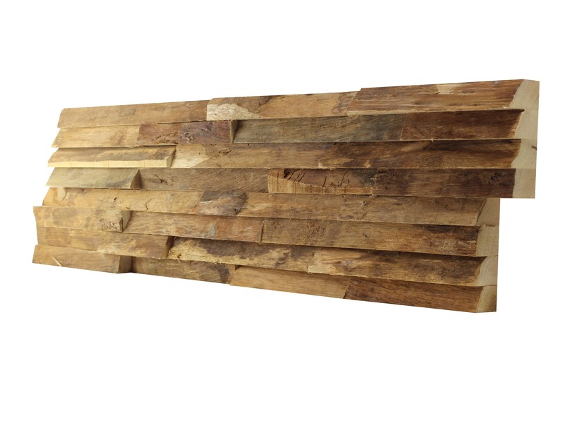 Indoor wooden 3D Wall Cladding LIMBA TERRA by Claddywood
