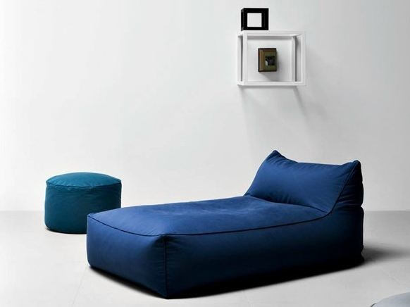 Upholstered fabric day bed LIMBO | Day bed by PIANCA