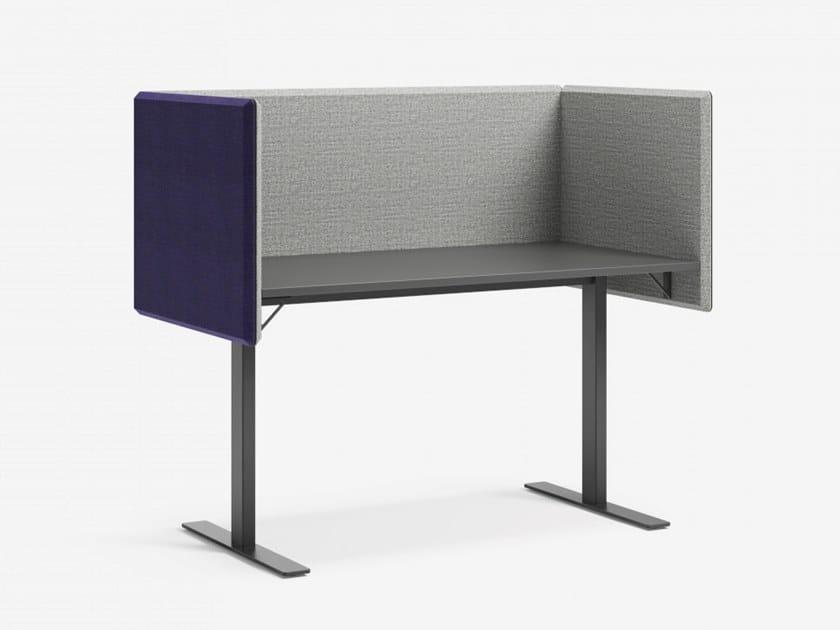 Pannello divisorio da scrivania fonoassorbente LIMBUSDESKUP ARROW by Glimakra of Sweden