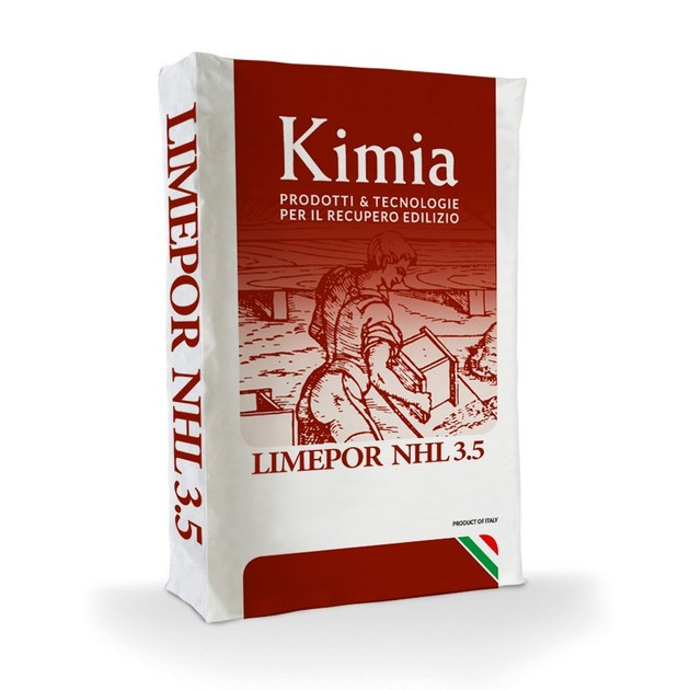 Hydrated and hydraulic lime LIMEPOR NHL 3.5 by Kimia