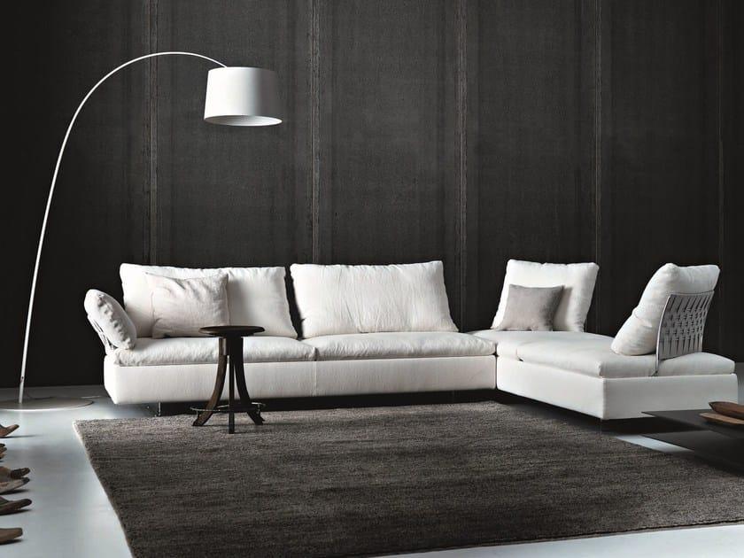 Sectional modular sofa LIMES by Saba Italia