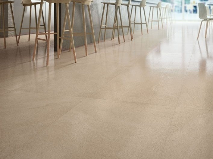 Porcelain stoneware wall/floor tiles with stone effect LIMESTONE - AMBER by COTTO D'ESTE