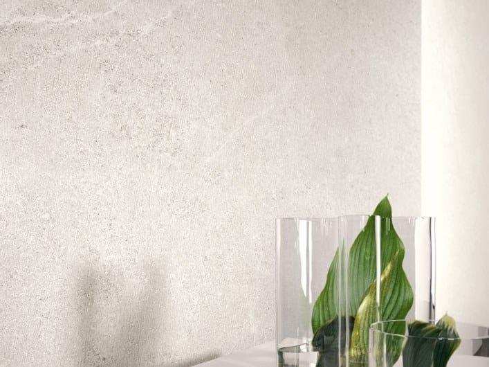 Pavimento/rivestimento in gres porcellanato effetto pietra LIMESTONE - CLAY by COTTO D'ESTE