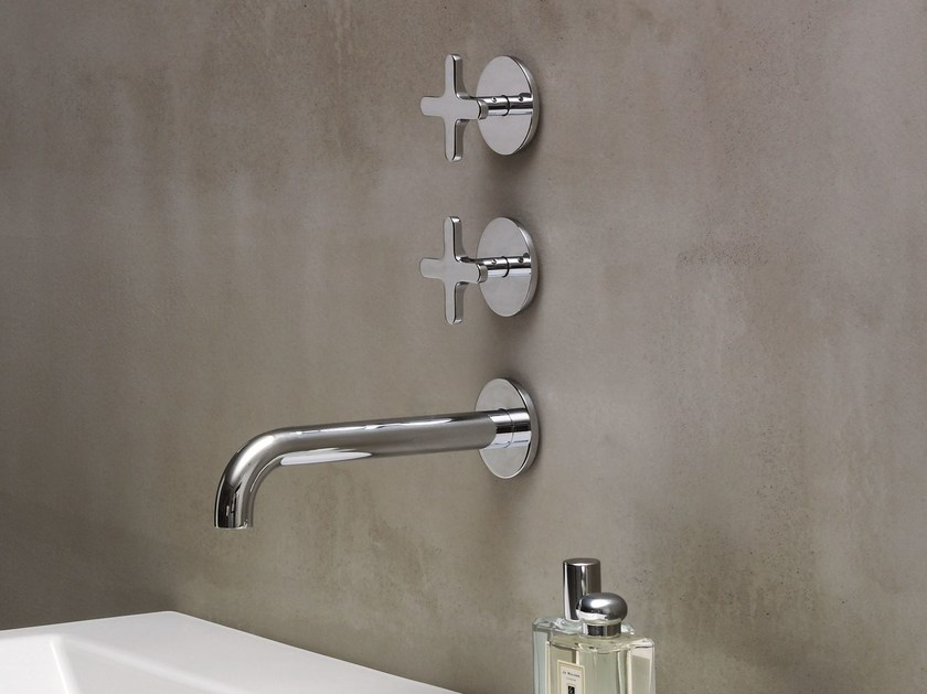 3 hole countertop washbasin tap LINEA | Countertop washbasin tap by AZZURRA sanitari