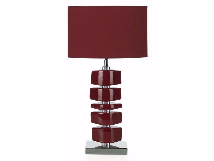 Contemporary style ceramic table lamp LINA BL by ENVY