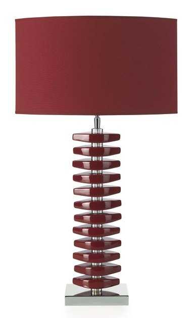 Contemporary style ceramic table lamp LINA TL by ENVY