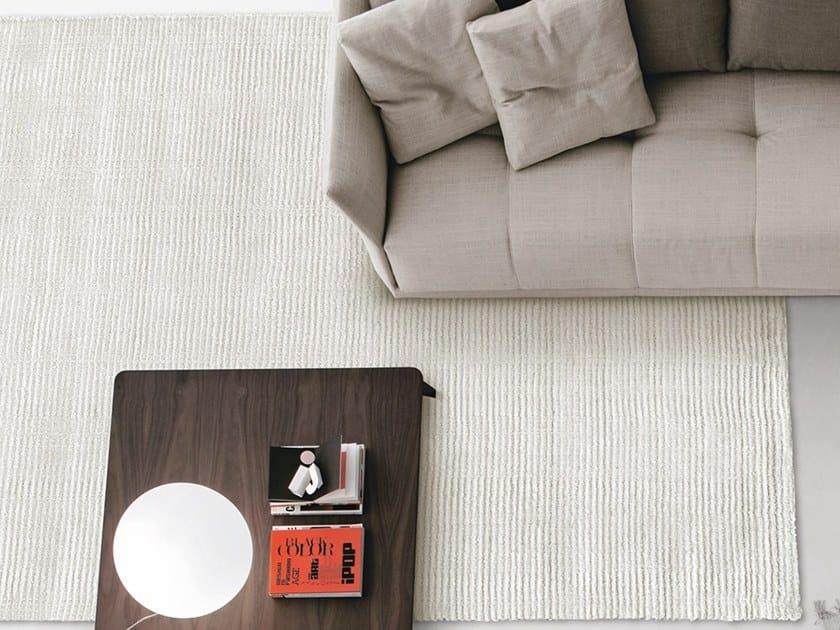 Solid-color rectangular rug LINE by Adriani e Rossi edizioni