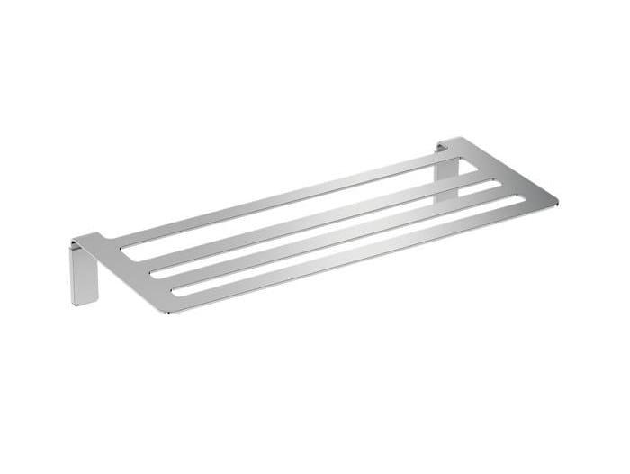 Stainless steel bathroom wall shelf LINE | Bathroom wall shelf by Cosmic