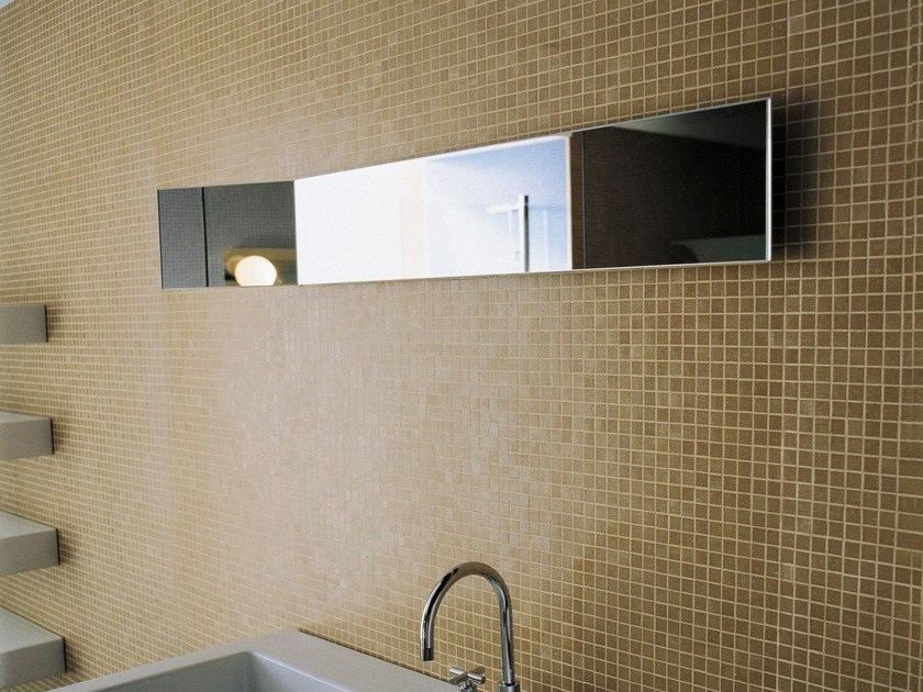 Cheval rectangular wall-mounted mirror LINE | Cheval mirror by CERAMICA FLAMINIA