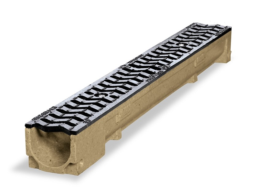 Polymere concrete Drainage channel and part LINE | Polymere concrete Drainage channel and part by Pircher
