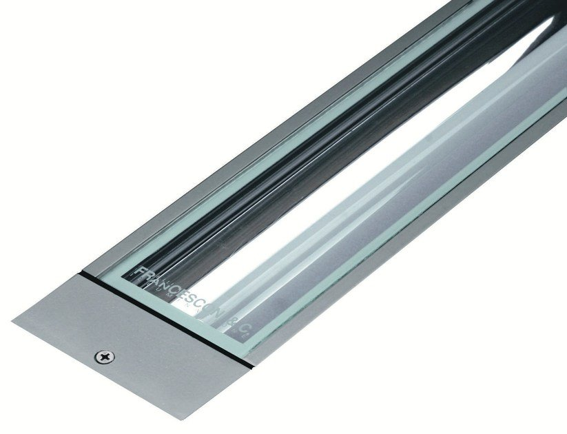 Walkover light fluorescent extruded aluminium steplight LINE F.1005 by Francesconi & C.
