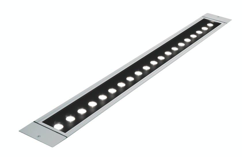 LED walkover light extruded aluminium steplight LINE F.1017 by Francesconi & C.