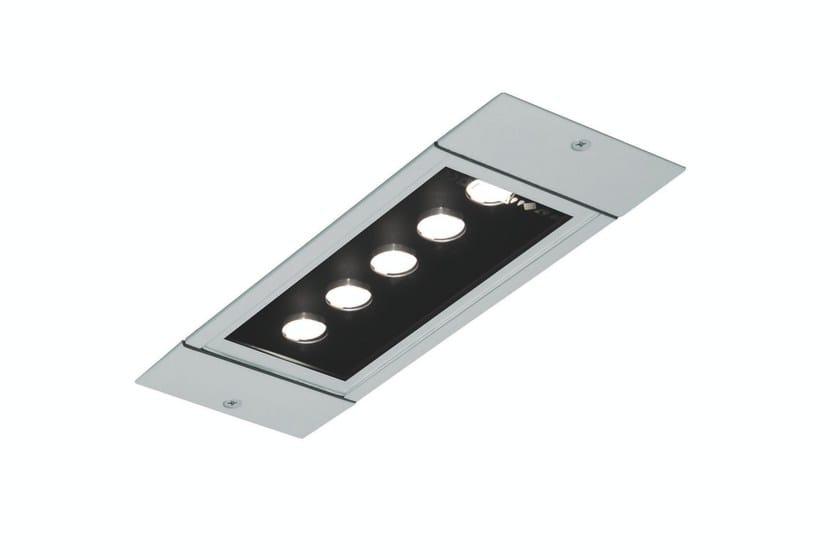 LED recessed extruded aluminium ceiling lamp LINE F.3000 by Francesconi & C.