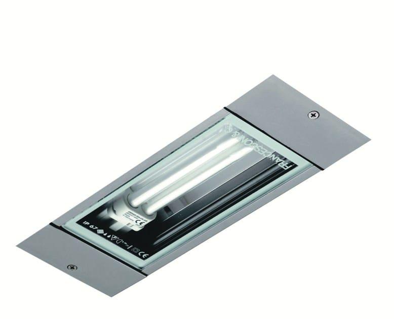 LED recessed extruded aluminium ceiling lamp LINE F.3002 by Francesconi & C.