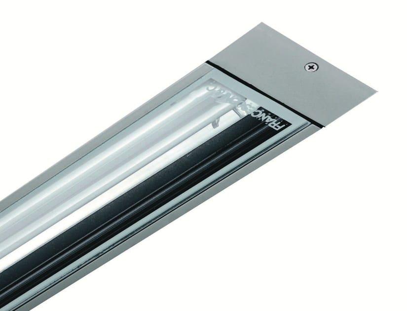 Recessed extruded aluminium ceiling lamp LINE F.3003 by Francesconi & C.