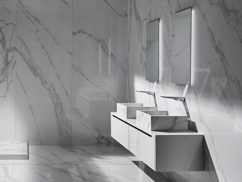 Mobile lavabo sospeso con cassetti LINE by MIMIC