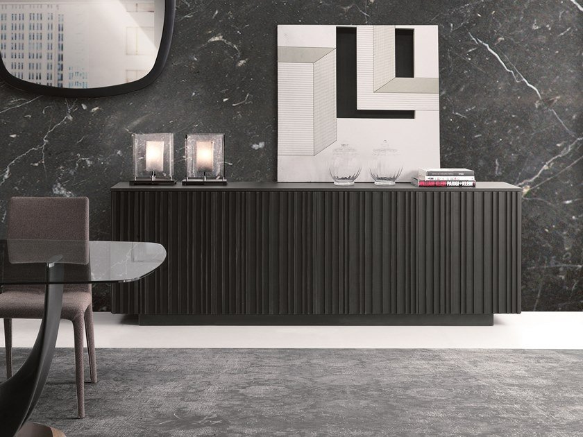 Sideboard with doors LINE | Sideboard by Pacini & Cappellini