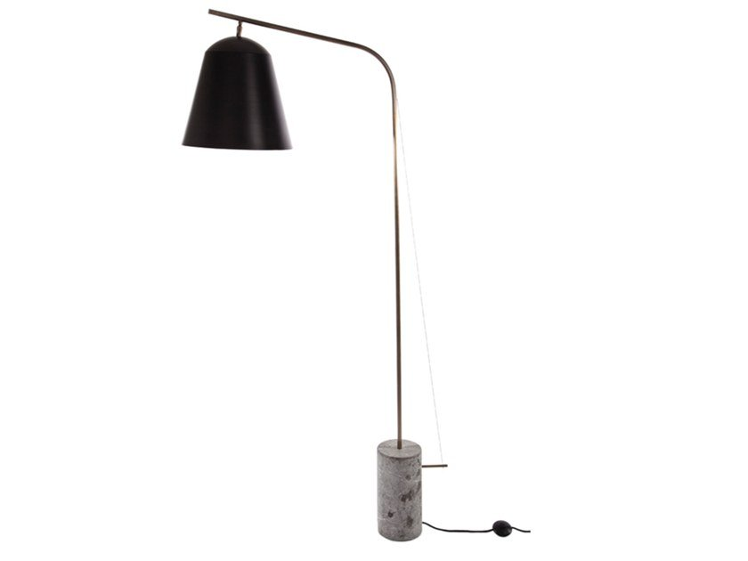 Handmade floor lamp LINE TWO by NORR11