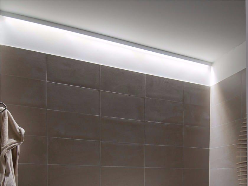 Direct light aluminium ceiling lamp LINEA by GLIP by S.I.L.E