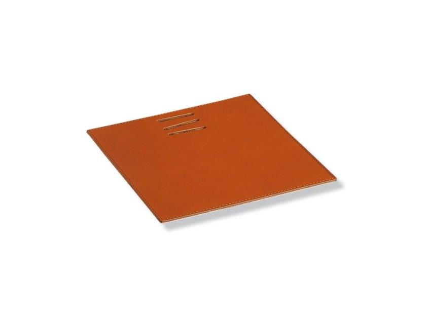 LINEA MOUSEPAD | Tanned leather Desk pad