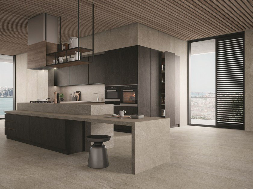 Porcelain stoneware wall/floor tiles LINEA SLABSTONE by MARGRES