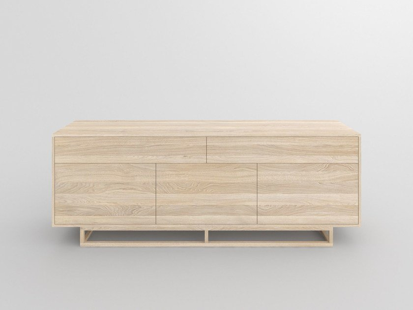 Sideboard Design solid wood sideboard with drawers linea by vitamin design design gg