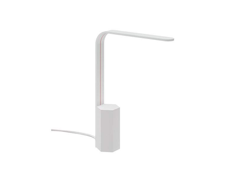 LED Cristaly® / Alumite® table lamp LINEAR | Desk lamp by 9010 novantadieci