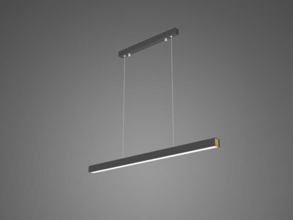 Lampada a sospensione a LED in alluminio LINEAR NO. 4 by Altavola Design