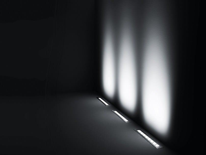Walkover light extruded aluminium steplight LINEAR by SIMES