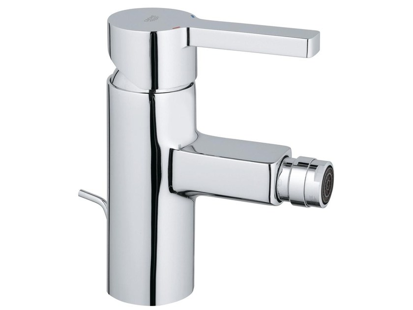 Countertop single handle bidet mixer with swivel spout LINEARE | Bidet mixer by Grohe