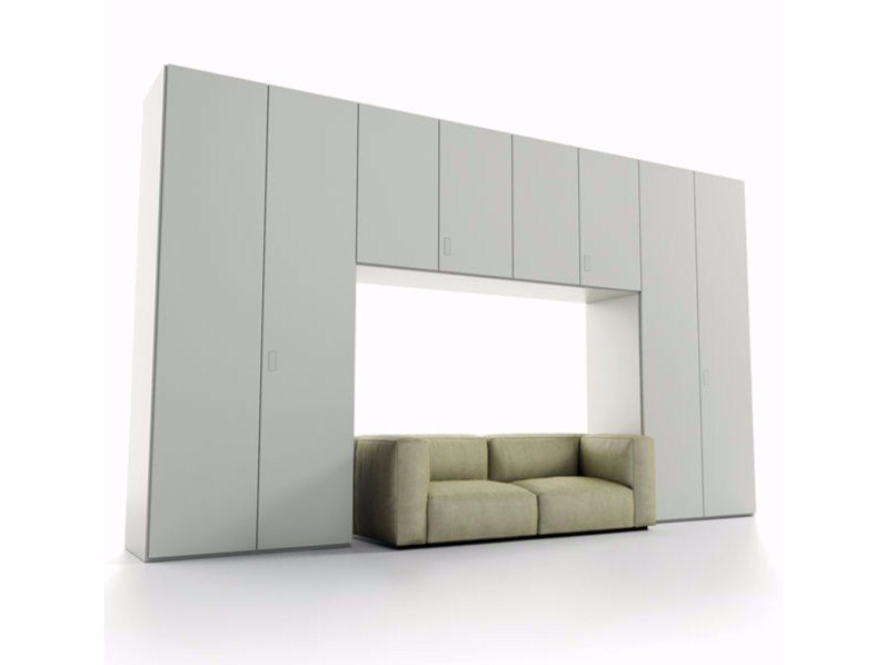 Contemporary style bridge wardrobe LINEARE | Bridge wardrobe by Caccaro
