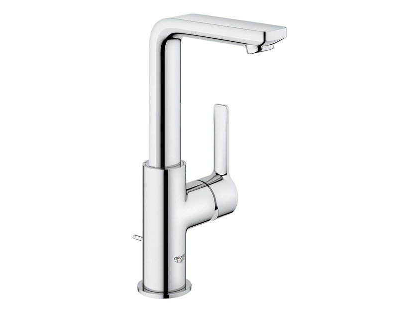 Countertop washbasin mixer with pop up waste LINEARE NEW | Washbasin mixer with aerator by Grohe