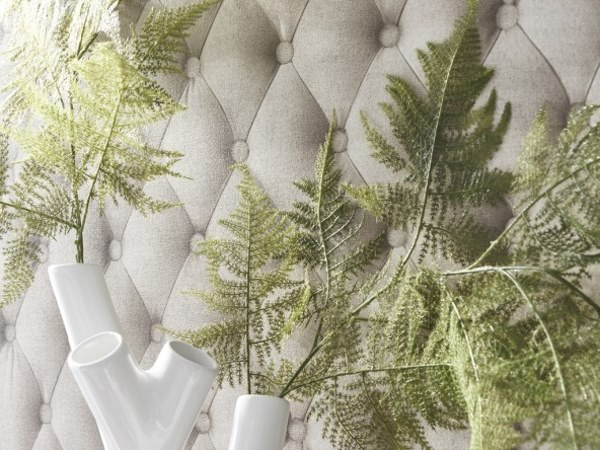 LINEN TUFTED FABRIC