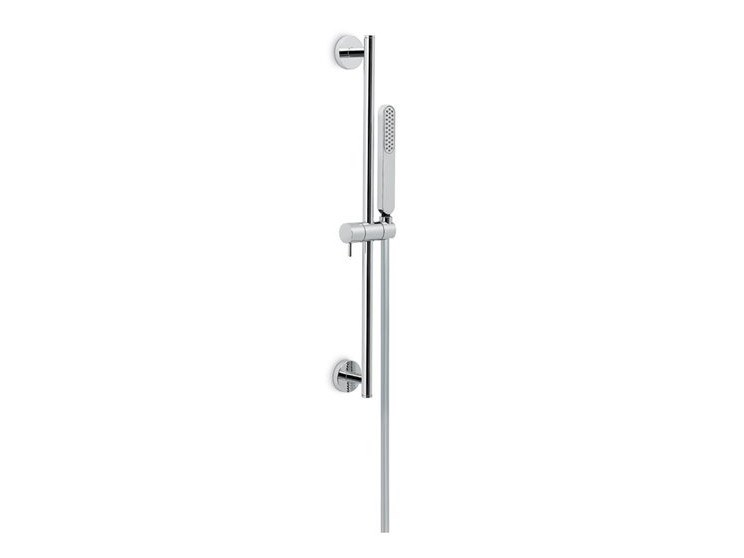 Shower wallbar with hand shower with hose LINFA II | Shower wallbar by newform