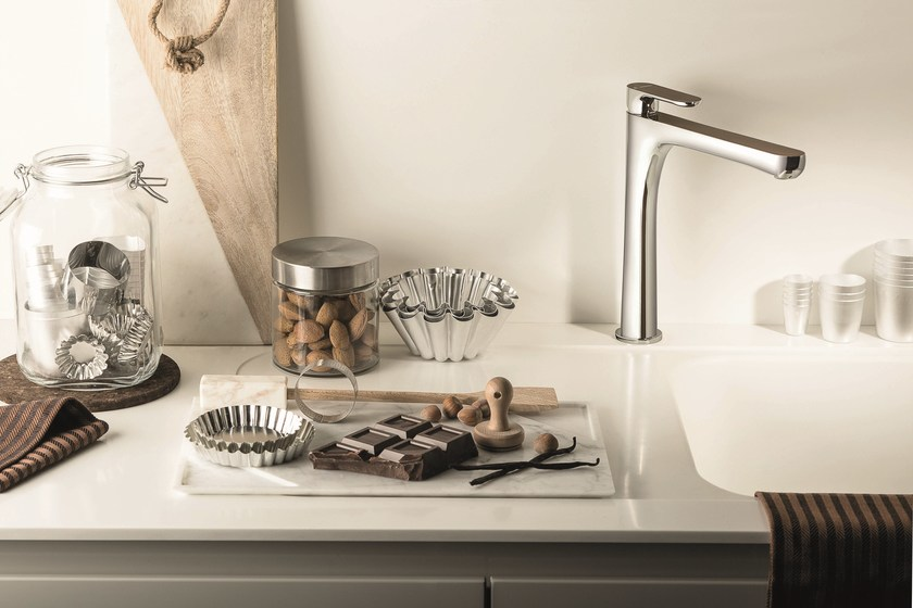 Countertop 1 hole kitchen mixer tap LINFA KITCHEN | Kitchen mixer tap by newform