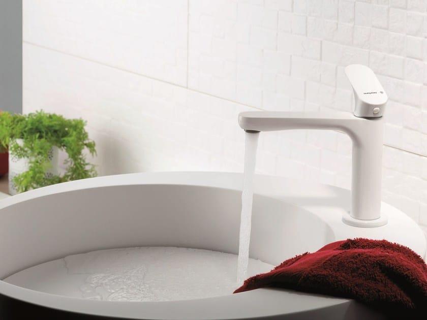 Miscelatore per lavabo monocomando monoforo senza scarico LINFA | Miscelatore per lavabo senza scarico by newform