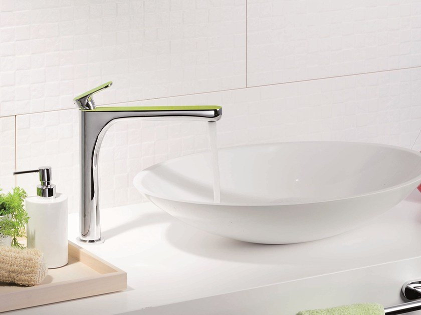 Washbasin mixer without waste LINFA | Washbasin mixer without waste by newform