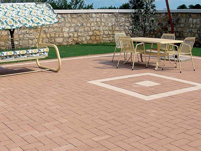 Concrete paving block LINGOTTO® by FERRARI BK
