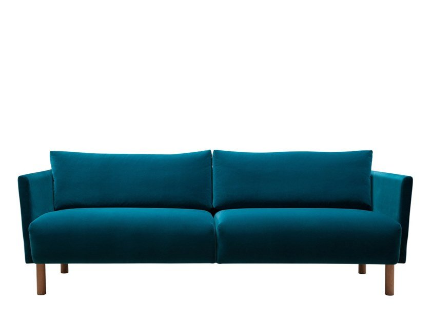 3 seater fabric sofa LINJA | Fabric sofa by SOFTREND