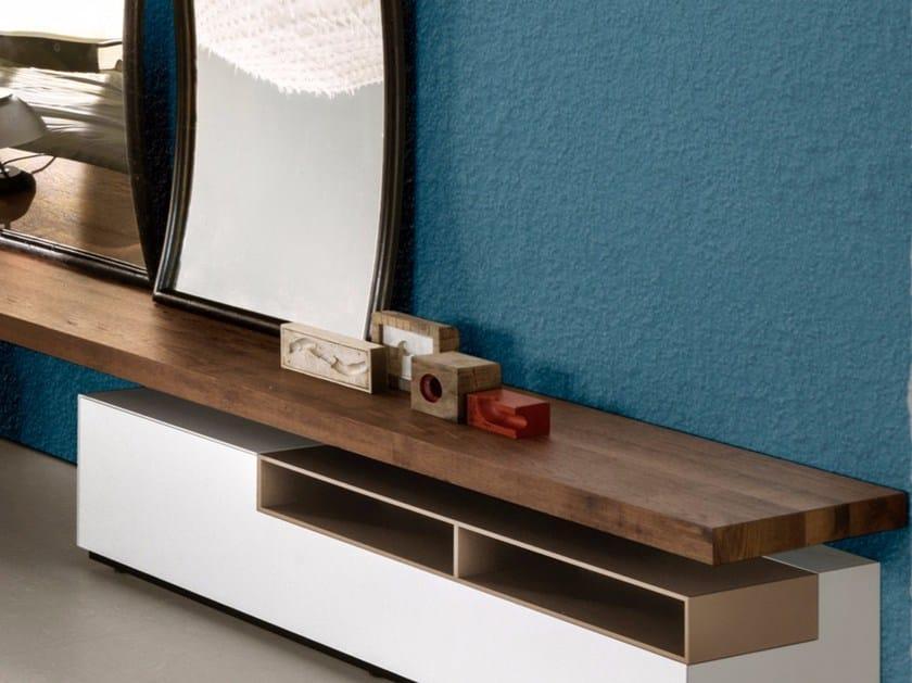 Wooden wall shelf LINK 1 | Wooden wall shelf by MDF Italia