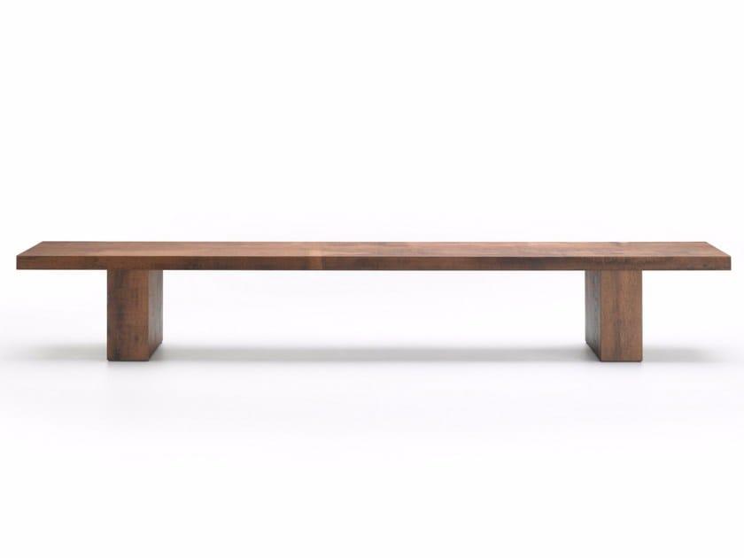 LINK 2 | Wooden bench By MDF Italia design Bruno Fattorini