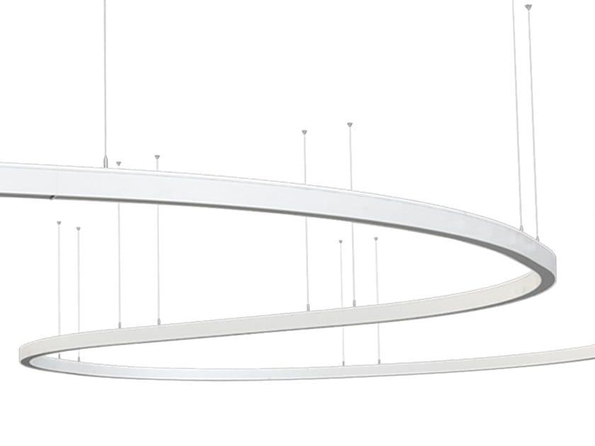 Linear lighting profile for LED modules LINNE S 90 I by Lightenjin