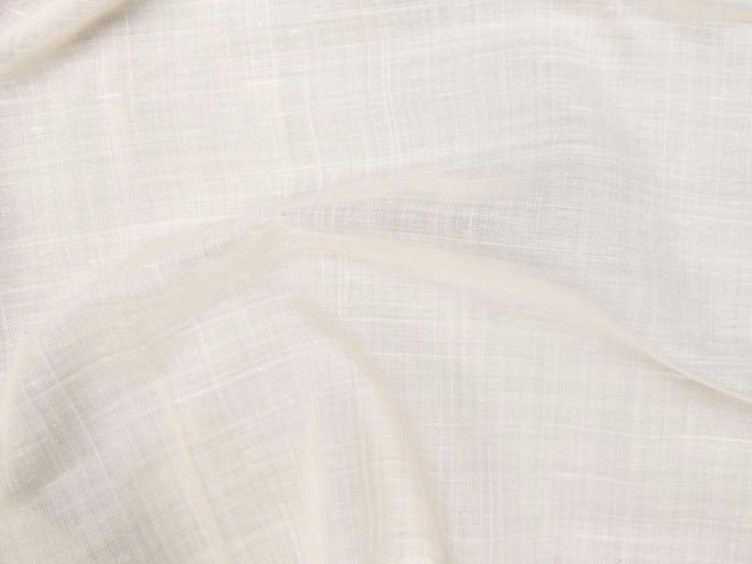 Tessuto a tinta unita in Trevira® CS per tende LINO FR by Gancedo